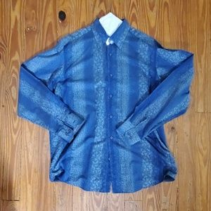 Men' Bugatchi long sleeve Button Down
